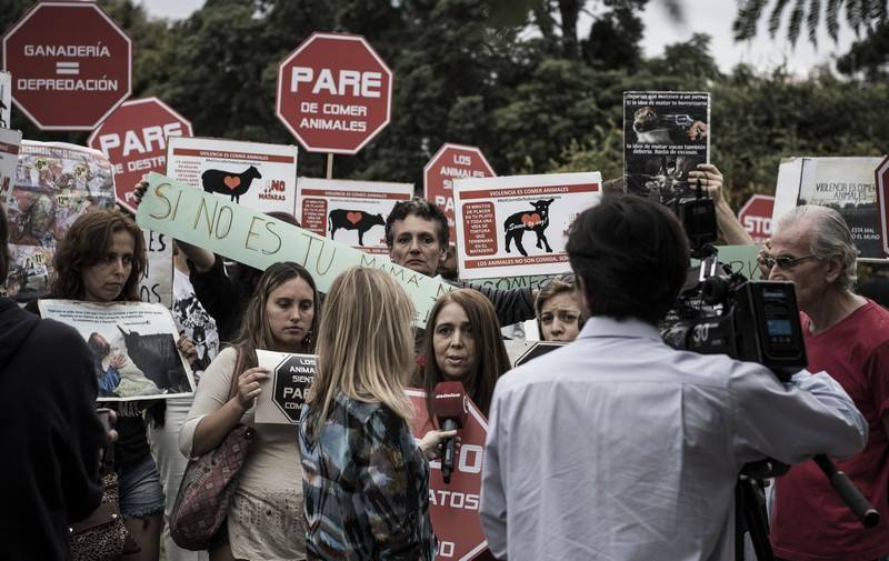 Buenos Aires March To Close All Slaughterhouses 2017 picture